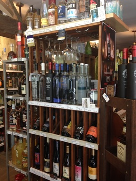 Liquor store supports craft distilling